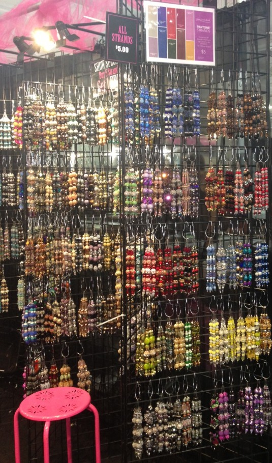 The Pantone Strand Wall - New Strands in the hottest colors for Fall/Winter 2014/15