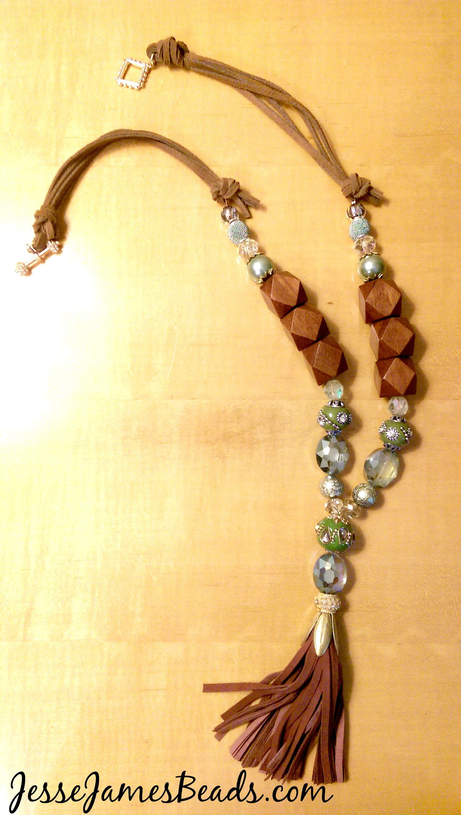Diy Tassel Necklace Jesse James Beads Blog