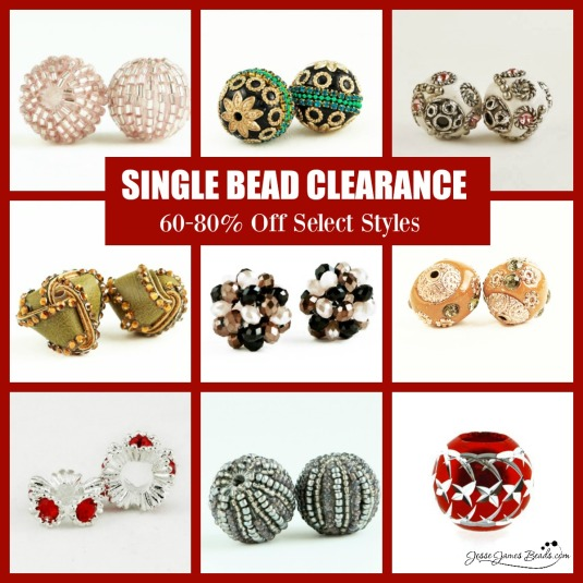 Help us clear the way for fresh beads! Up to 80% off select styles